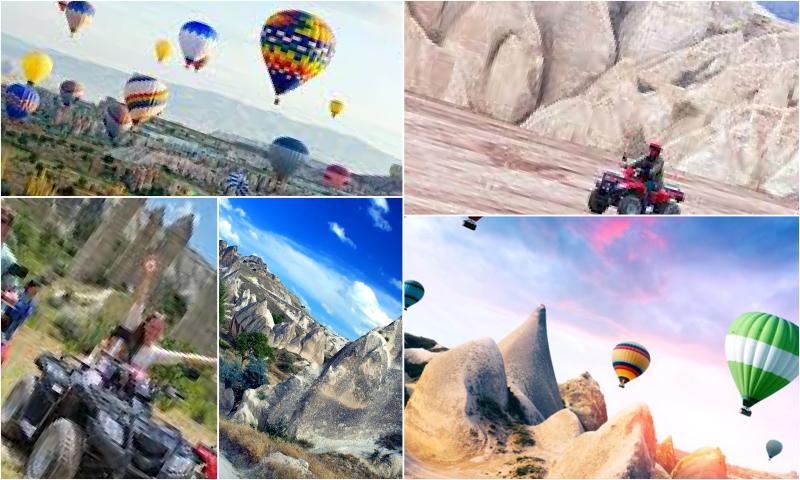Kapadokya ATV Turlarında Gezilecek Yerler