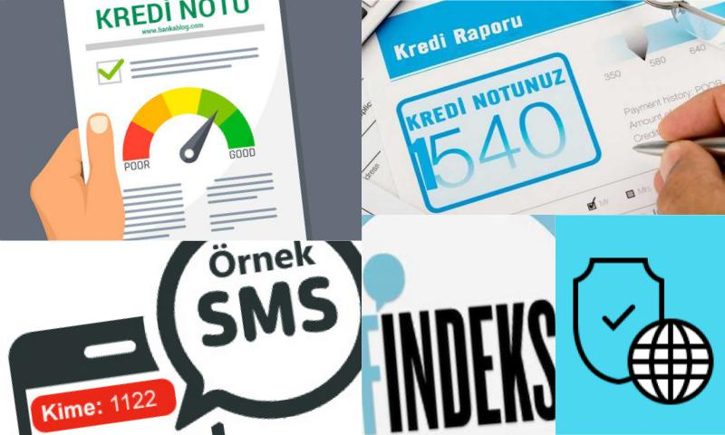 T.C. SMS ile Findeks Kredi Notu
