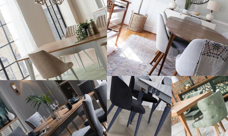 Yemek Odası İçin Sandalye Seçimi Nasıl Olmalıdır?