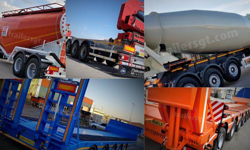 Lowbed / Low Loeder Semi Trailers Nedir?