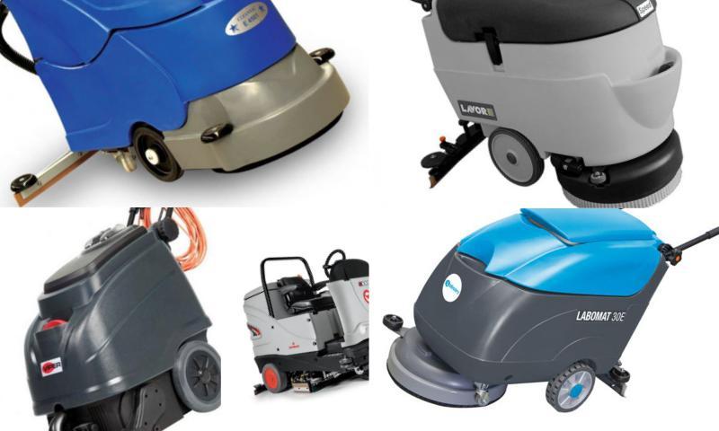 Yer Temizleme Makinası Çeşitleri
